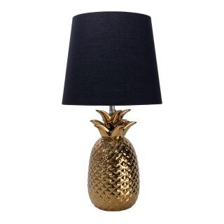 """Keramik-Tischleuchte h: 45cm """"Ananas"""""""
