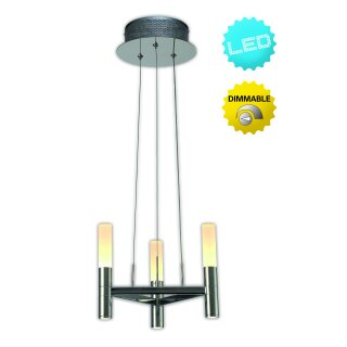 LED-Krone 3flg. d: 28,4cm Up/Down Castle