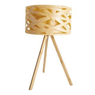 """Tischleuchte """"Finja"""" mit Bambus h: 55cm"""